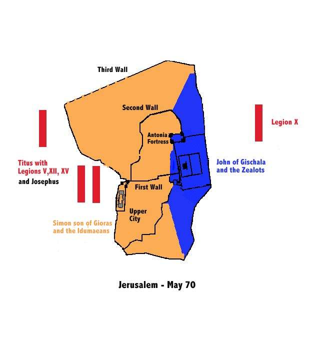 Chronology of the War According to Josephus Part 7 The Fall of